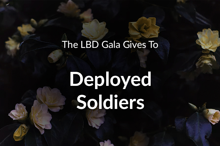 The LBD Gala Gives To Deployed Soldiers